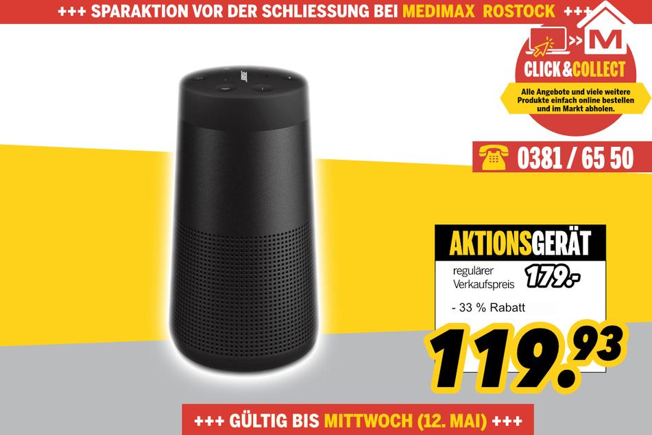 Soundlink Revolve von Bose für 119,93 Euro
