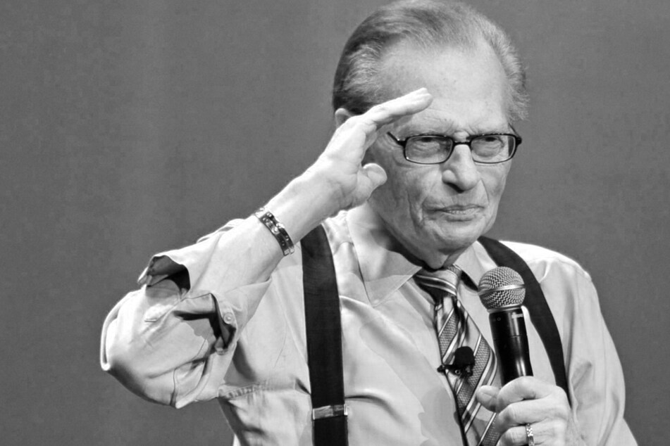 Larry King died at the age of 87 after being infected with the coronavirus (archive image).