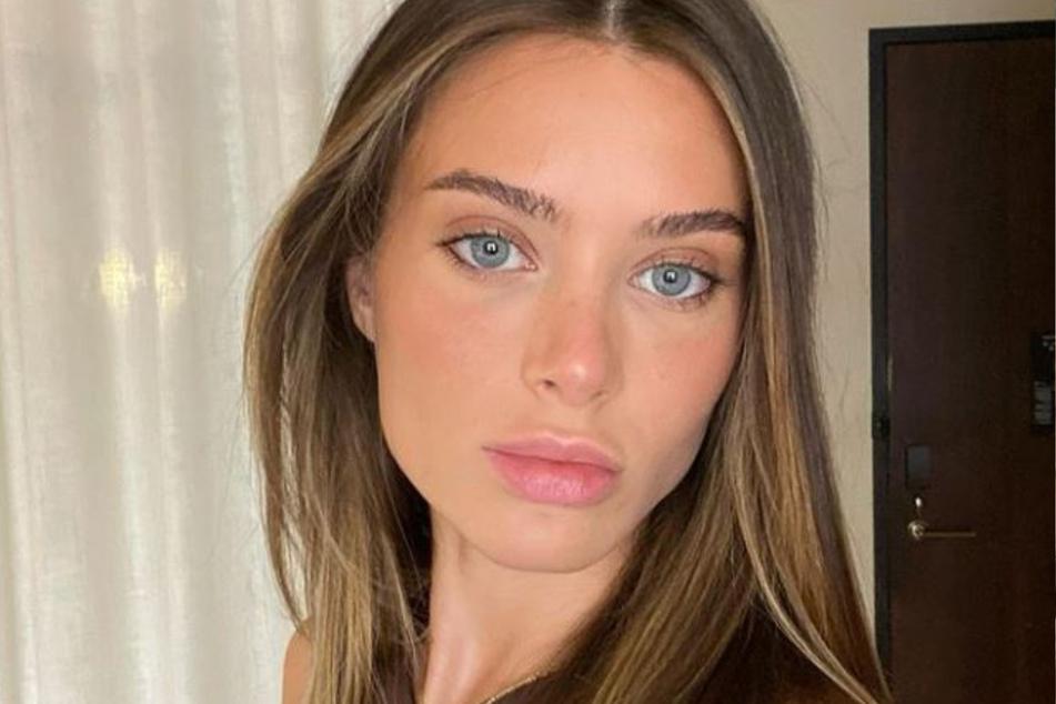 Lana Rhoades (24) auf einem aktuellen Insta-Selfie.