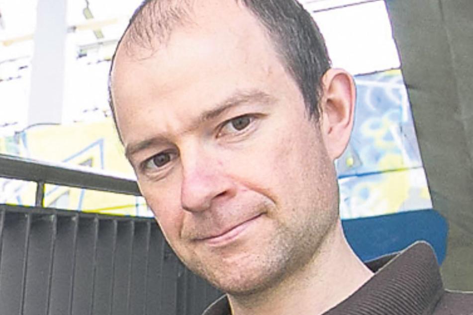 ADFC-Vorstand Nils Larsen (36).
