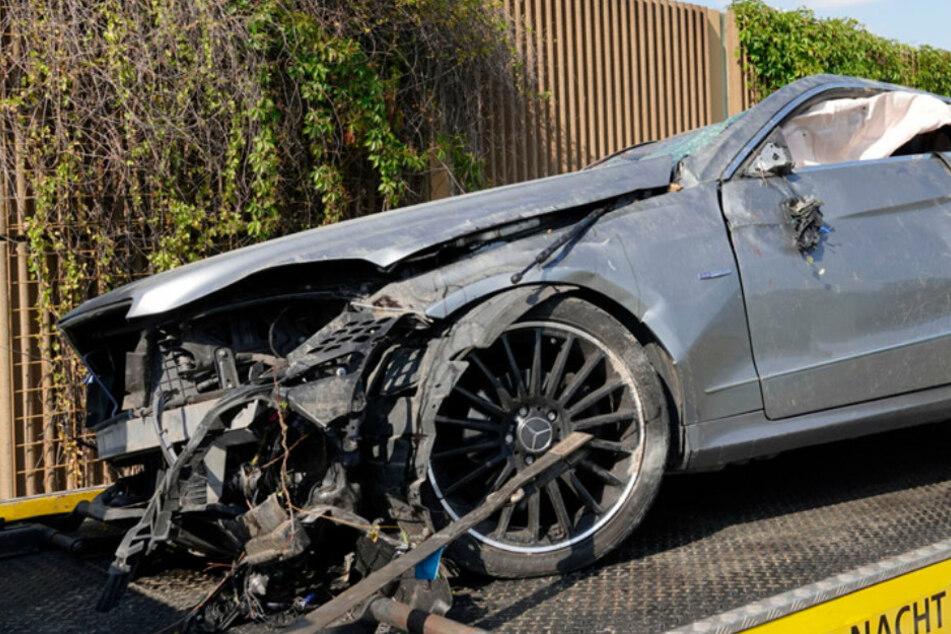 Unfall A72: Vollsperrung: A72 nach mehreren Unfällen dicht