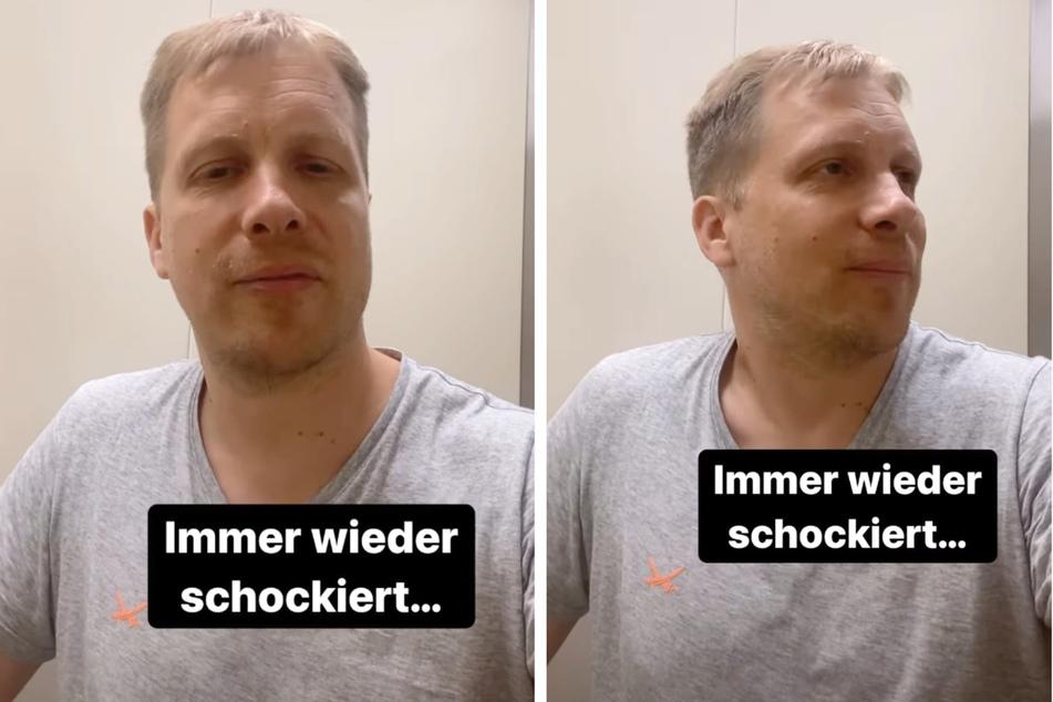 """Oliver Pocher (43) kommentiert das Video einer australischen Mutter: """"Immer wieder schockiert..."""""""