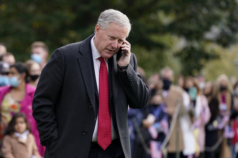Mark Meadows, Stabschef im Weißen Haus.