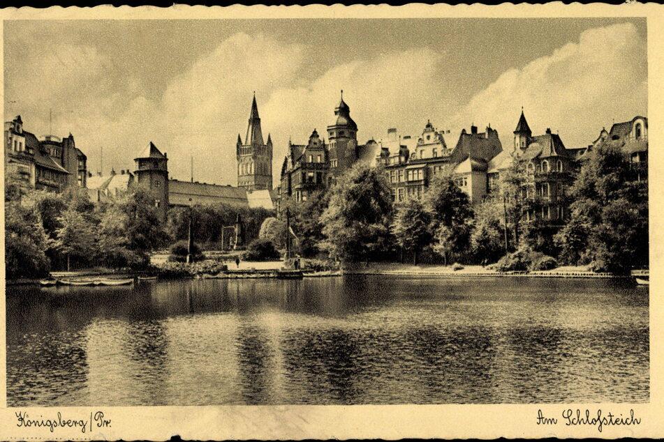 Königsberg (Kaliningrad) vor dem Zweiten Weltkrieg: Hier befand sich einst das legendäre Bernsteinzimmer.
