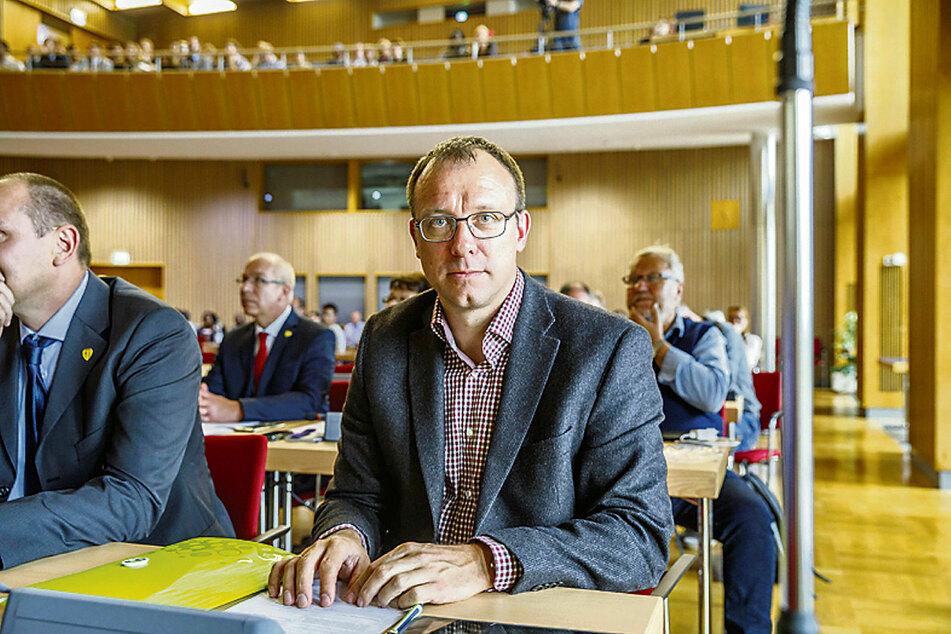 Stadtrat Holger Hase (42, FDP).