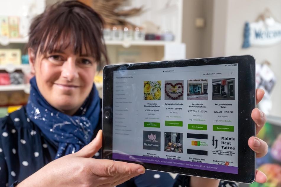 In Mittweida gibt's jetzt einen Online-Shop für alle Händler