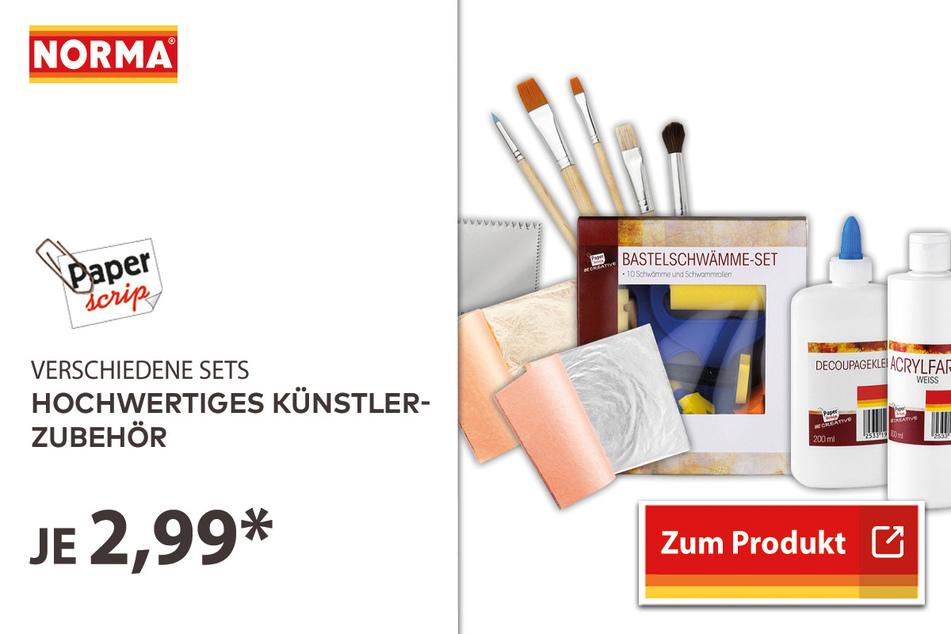 Hochwertiges Künstler-Zubehör für 2,99 Euro.