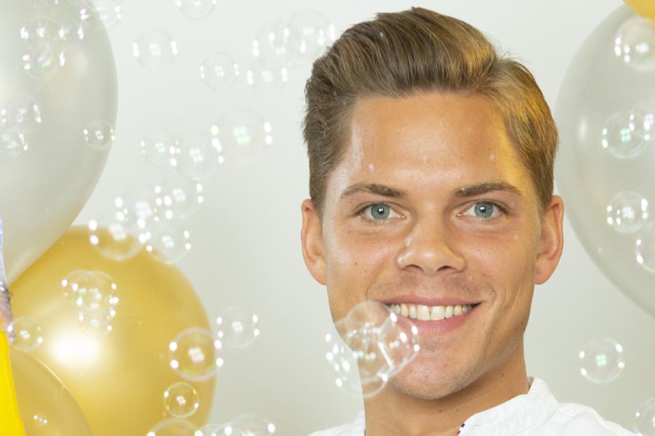 Sieger der jüngsten (13.) Staffel in Deutschland: Ex-Polizist Cedric (26).