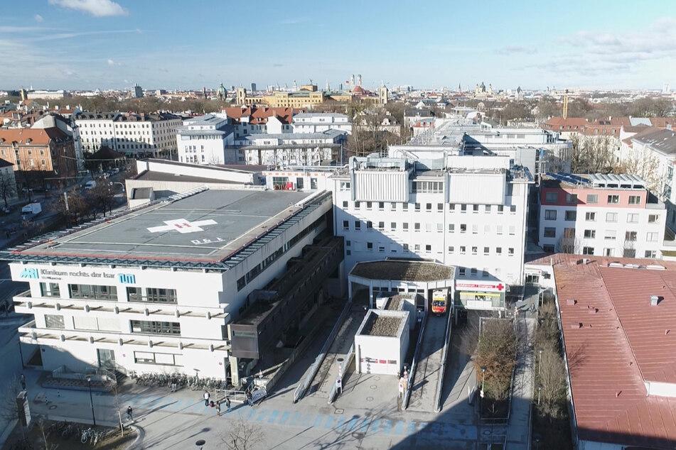 Am Klinikum rechts der Isar in München arbeiten rund 5600 Mitarbeiter.