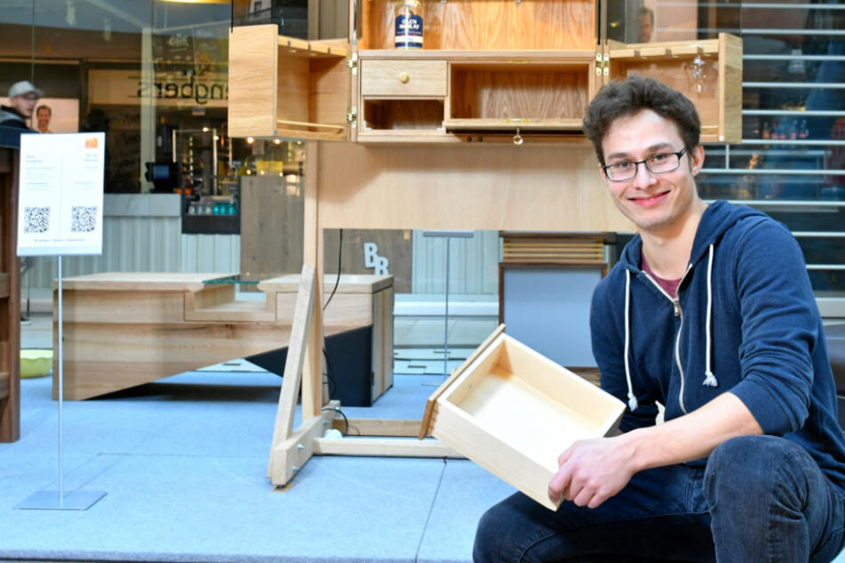 Ich und mein Holz: Hier zeigen Sachsens beste Nachwuchs-Tischler ihr Talent