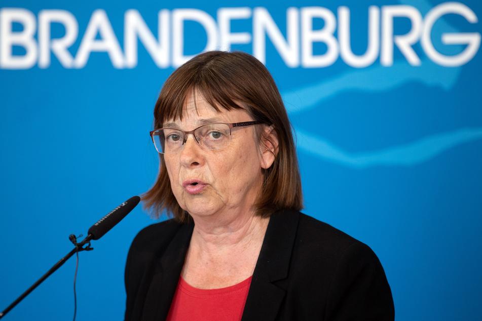 Ursula Nonnemacher (Bündnis 90/Die Grünen), brandenburgische Ministerin für Soziales, Gesundheit, Integration und Verbraucherschutz.