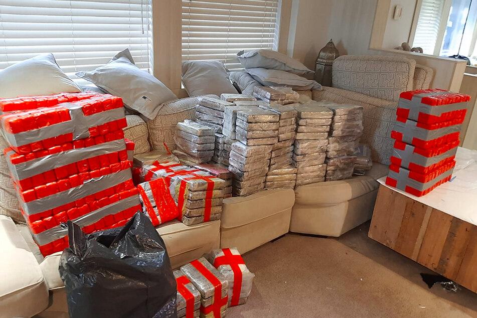 Mehr als zwei Tonnen Kokain wurden auf einer Luxusjacht gefunden.