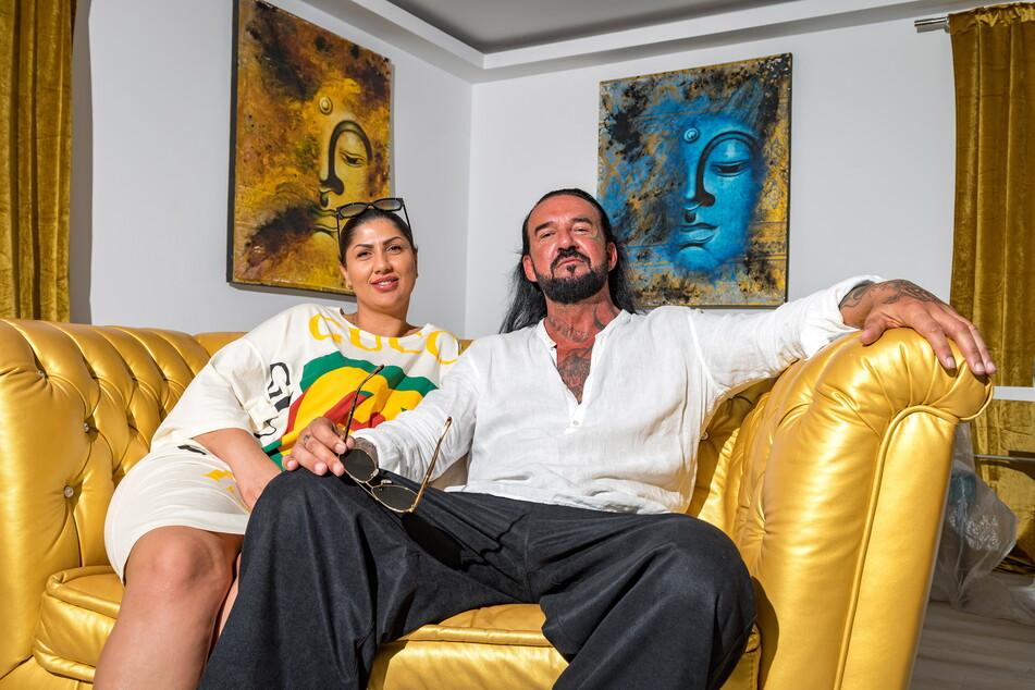 Ana Maria Balidu (35) und Werner Kirschner (49) sind in Dresden verliebt - und in den VIP-Bereich ihres Bordells.