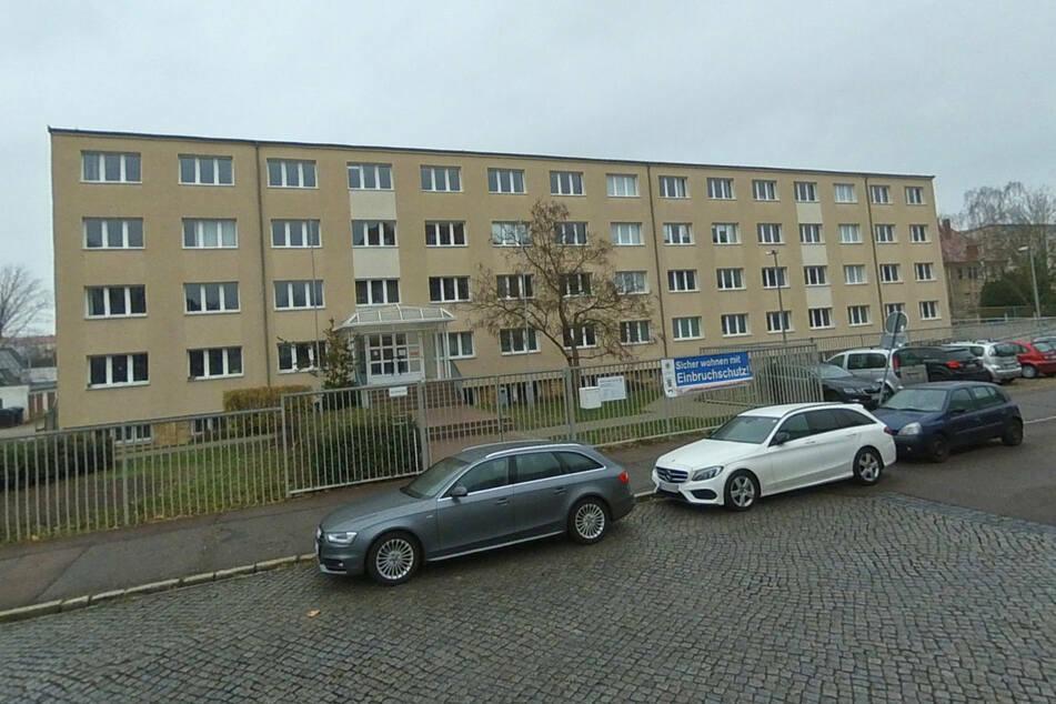 Vor diesem Jugendamt in Halle (Saale) attackierte der Mann seine Ehefrau im Oktober 2019.
