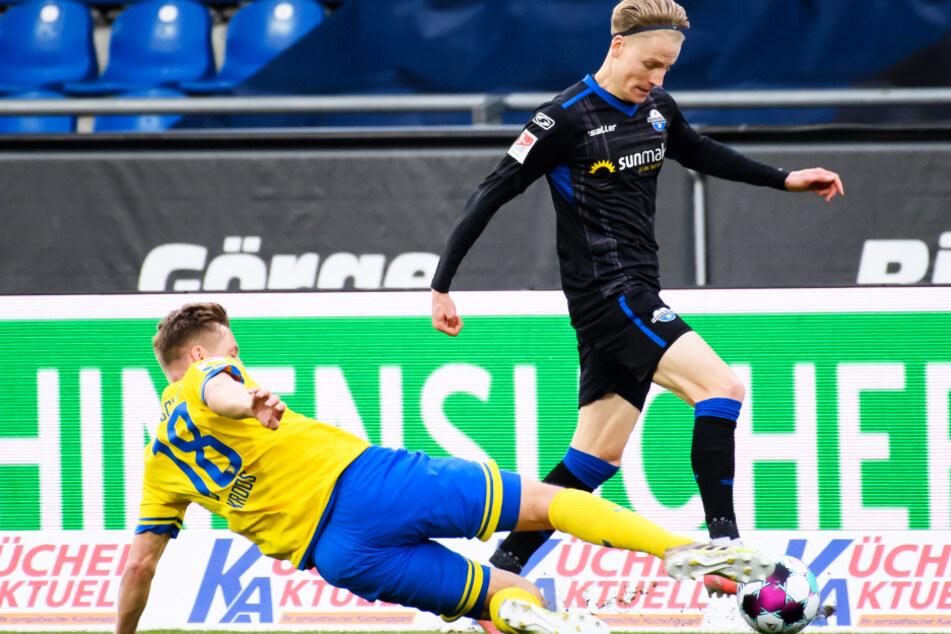 Chris Führich (23, r.) wird kommende Saison wohl im VfB-Trikot auflaufen.