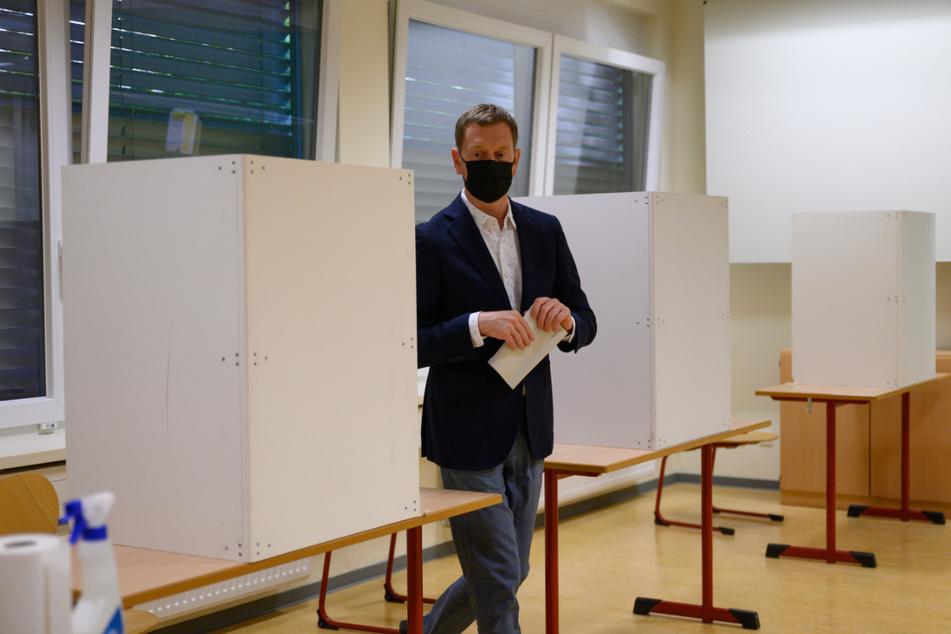 AfD bei Zwischenstand in Sachsen klar vorn