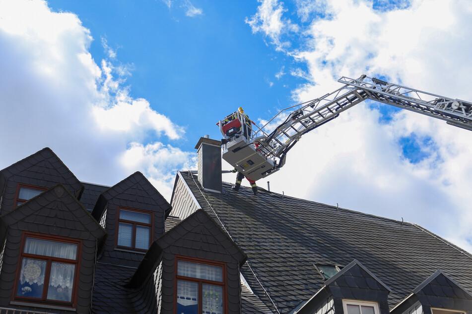 Feuerwehreinsatz in Zschopau: Brand in Dachgeschosswohnung