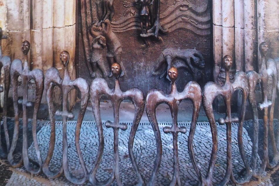 Engel vor Magdeburger Kathedrale gestohlen! Wer hat etwas gesehen?