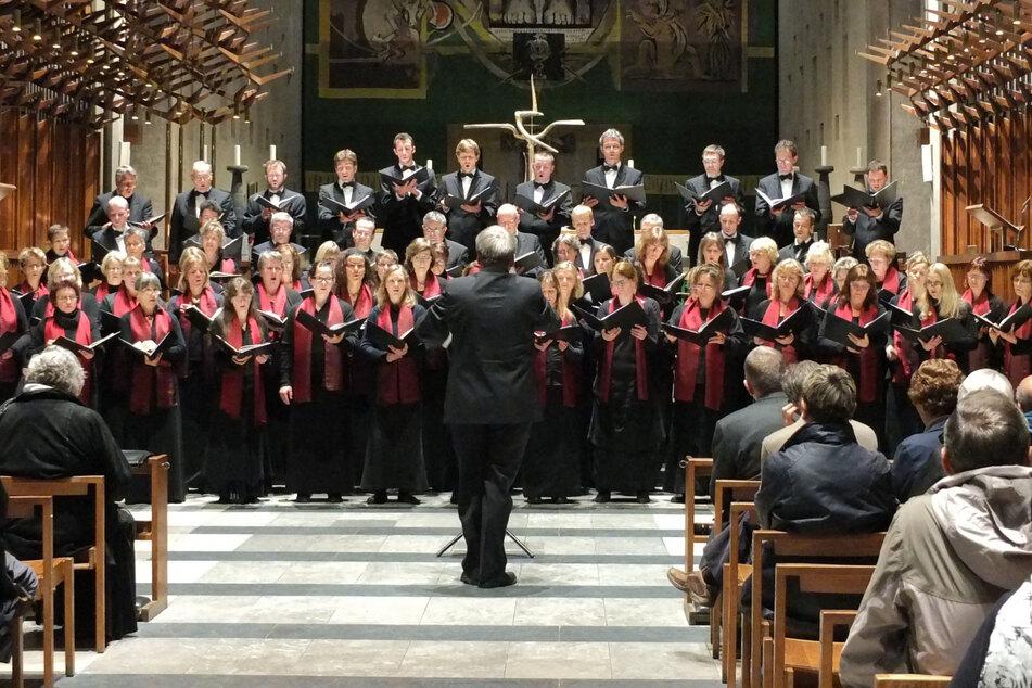 Gern auf Reisen: Im Jahr 2013 sang der Chor in der Kathedrale in Coventry.