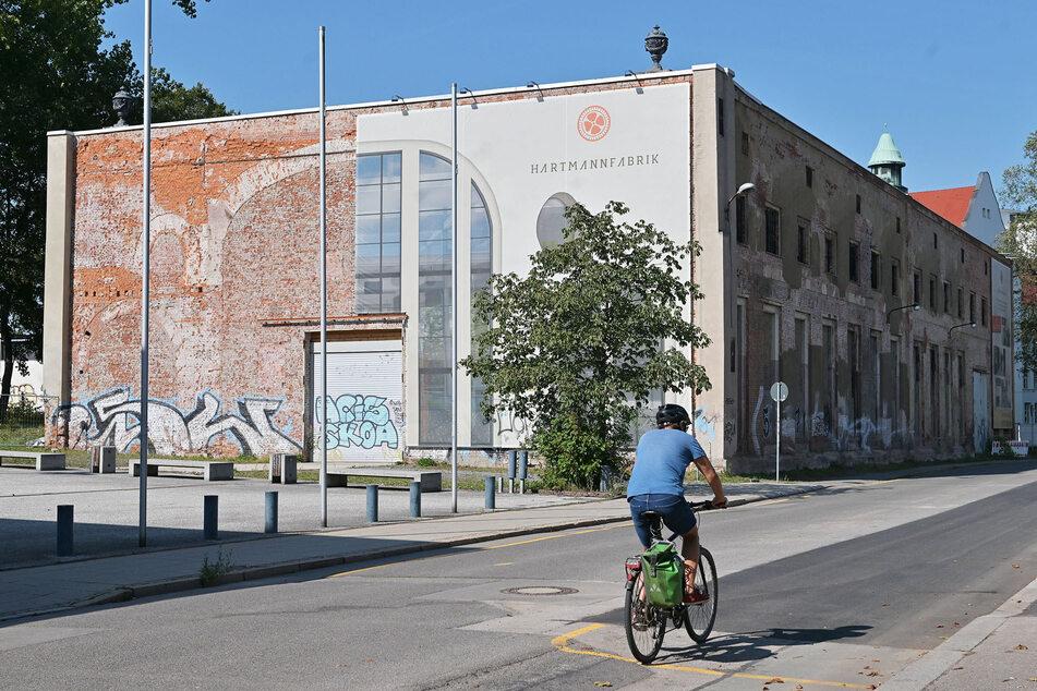 Die alte Hartmannfabrik soll nach ihrer Sanierung Sitz der Gesellschaft werden.