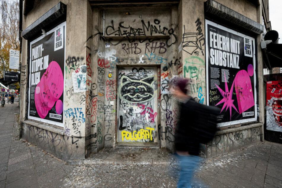 Das Häusereck des KitKat Clubs in Berlin.