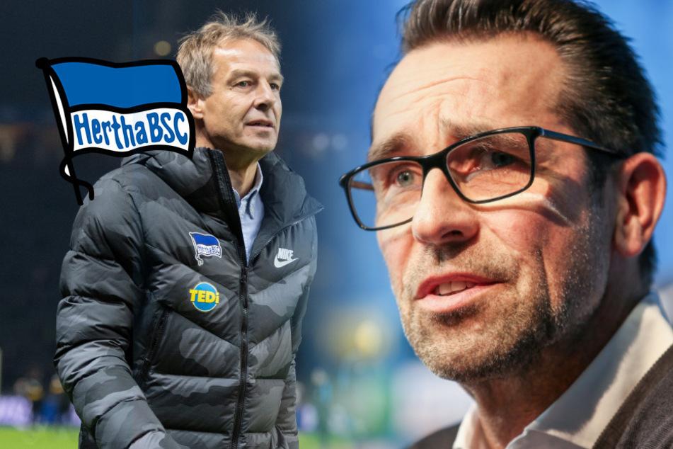 """Preetz packt über Klinsmann-Abgang aus: """"So, tschüss! Ich bin dann mal weg"""""""