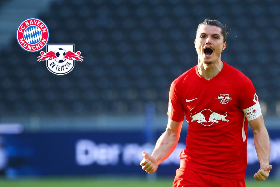 Bundesliga-Kracher: FC Bayern will offenbar Marcel Sabitzer von RB Leipzig holen!