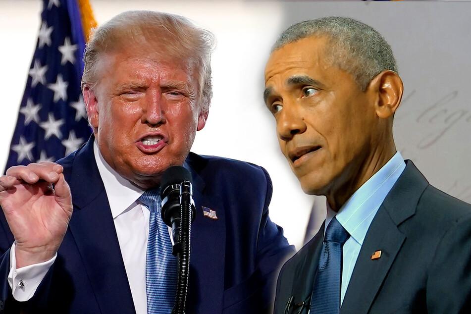 Ex-Präsident Obamas heftige Abrechnung mit Donald Trump