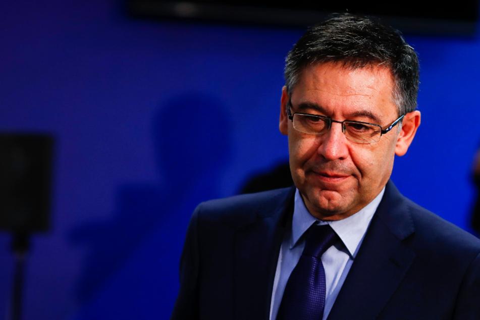 Josep Maria Bartomeu (57) ist im Verein und bei den Fans des FC Barcelona umstritten.