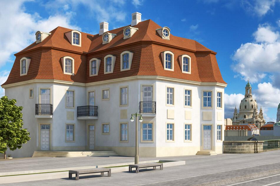 Nach diesem Entwurf von Martin Trux soll das Narrenhäusel wieder aufgebaut werden.