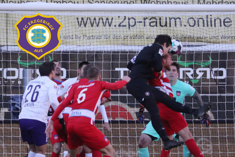 """Aue-Keeper Männel nach Heidenheim-Pleite: """"Es war mir nicht vergönnt an den Ball heranzukommen"""""""