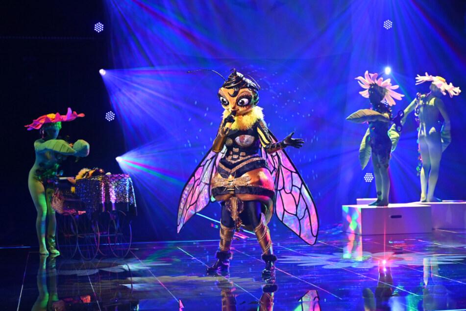 """Krasse Überraschung bei """"The Masked Singer"""": SIE wurde als Biene enttarnt!"""