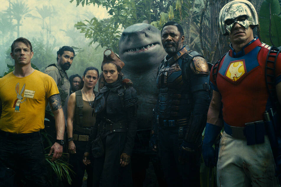 The Suicide Squad, staring Idris Elba, Magot Robbie, John Cena, and Sylvester Stallone, hits theaters and HBO Max on August 5.