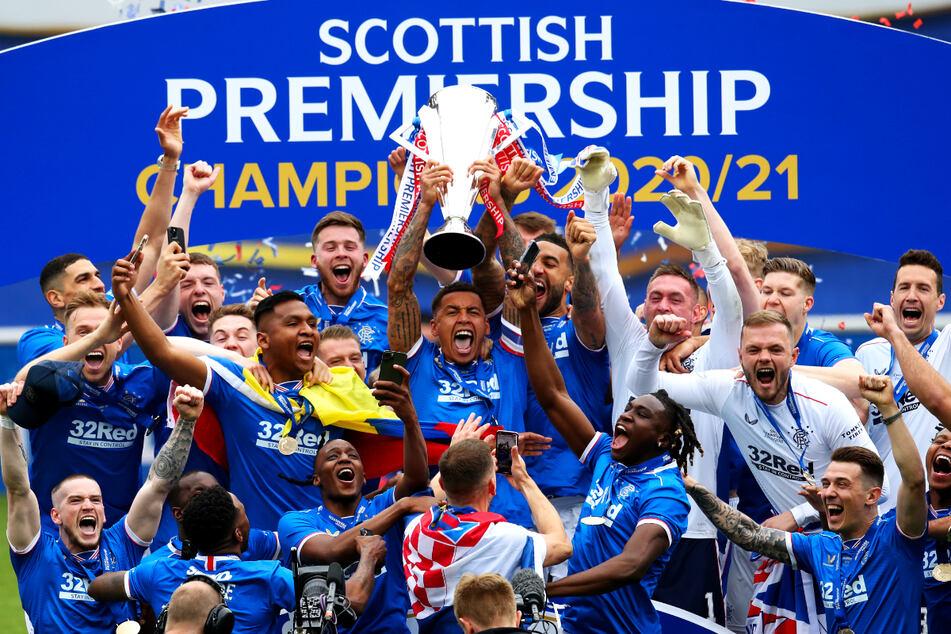 Brillante Saison der Glasgow Rangers, die 102 von 114 Punkten holten!