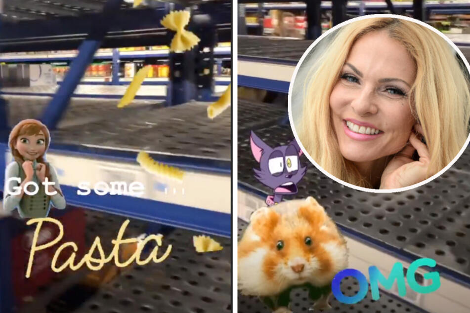 Mission Impossible: Sonya Kraus im Supermarkt auf Pasta-Suche