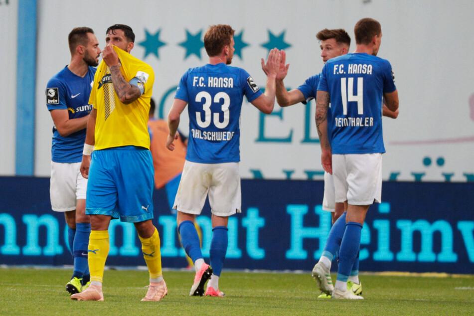 Das 4:0 gegen den FC Carl Zeiss Jena war für den FC Hansa Rostock der vierte Sieg in Folge.