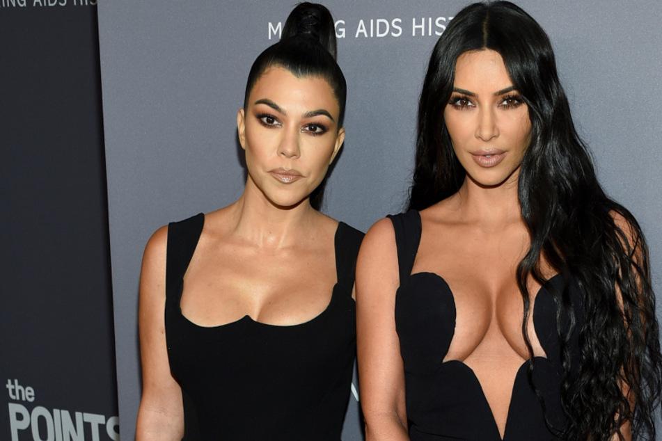 Kim Kardashian und Schwester Kourtney prügeln sich vor laufender Kamera