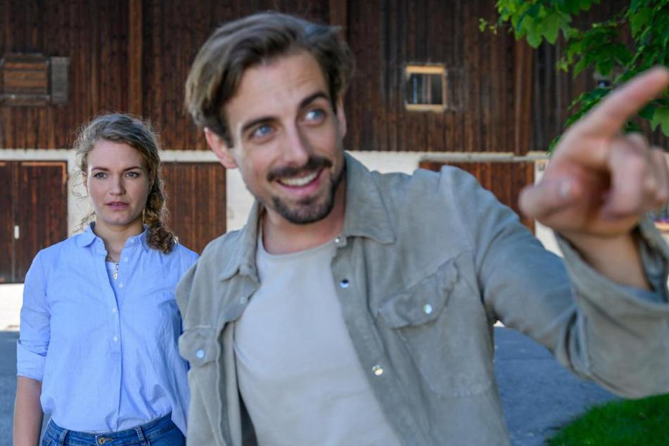 Maja (Christina Arends, 30) lässt sich wieder mit Hannes (Pablo Konrad, 30) ein. Geht es dabei nur ums Geld?