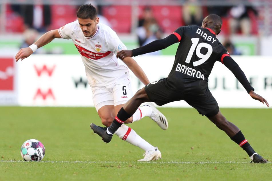 Konstantinos Mavropanos (22, l.) ist für die Partie gegen die Bayern eine Option für den VfB Stuttgart.