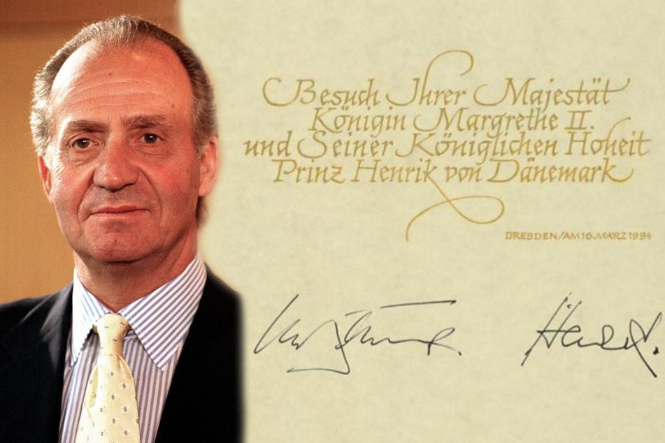 Spaniens Ex-König Juan Carlos ist mittlerweile abgetaucht. (Bildmontage)
