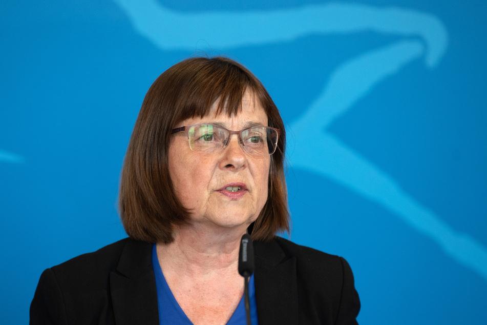 Ursula Nonnemacher (Bündnis 90/Die Grünen), Ministerin für Soziales, Gesundheit, Integration und Verbraucherschutz in Brandenburg.