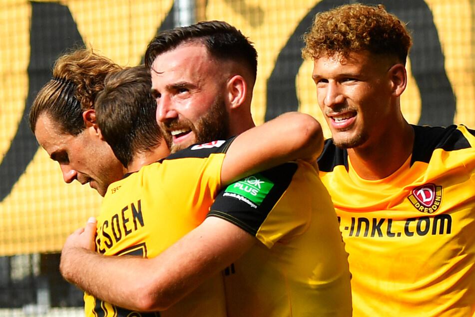 Dynamo Dresden mischt nach dem Sieg gegen Werder Bremen wieder voll im oberen Tabellendrittel der 2. Bundesliga mit.