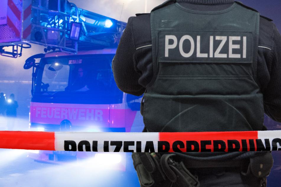 Polizei, Feuerwehr und Rettungsdienst waren mit zahlreichen Einsatzkräften vor Ort (Symbolbild).