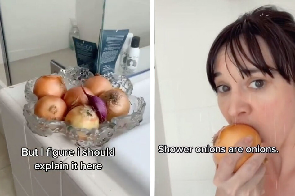 """Shower onions"" are taking over TikTok – and they're not as crazy as they sound!"