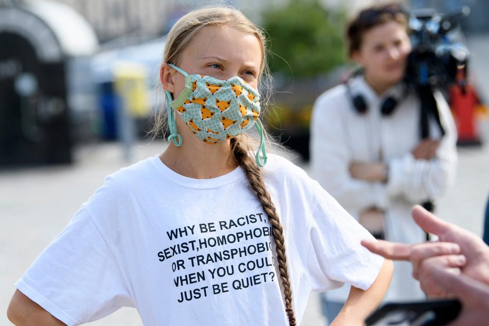Greta Thunberg (18) macht auf die Rekord-Hitze in Kanada aufmerksam.