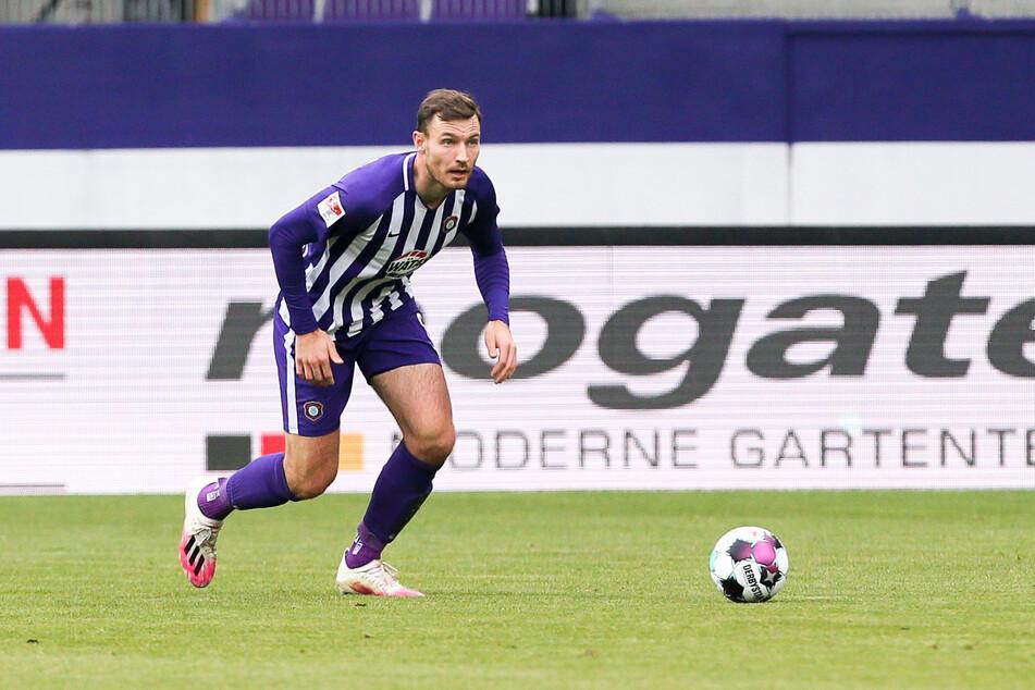 Für Aue-Spieler Florian Ballas waren die schlampigen Ballverluste Schuld an der Paderborn-Niederlage.