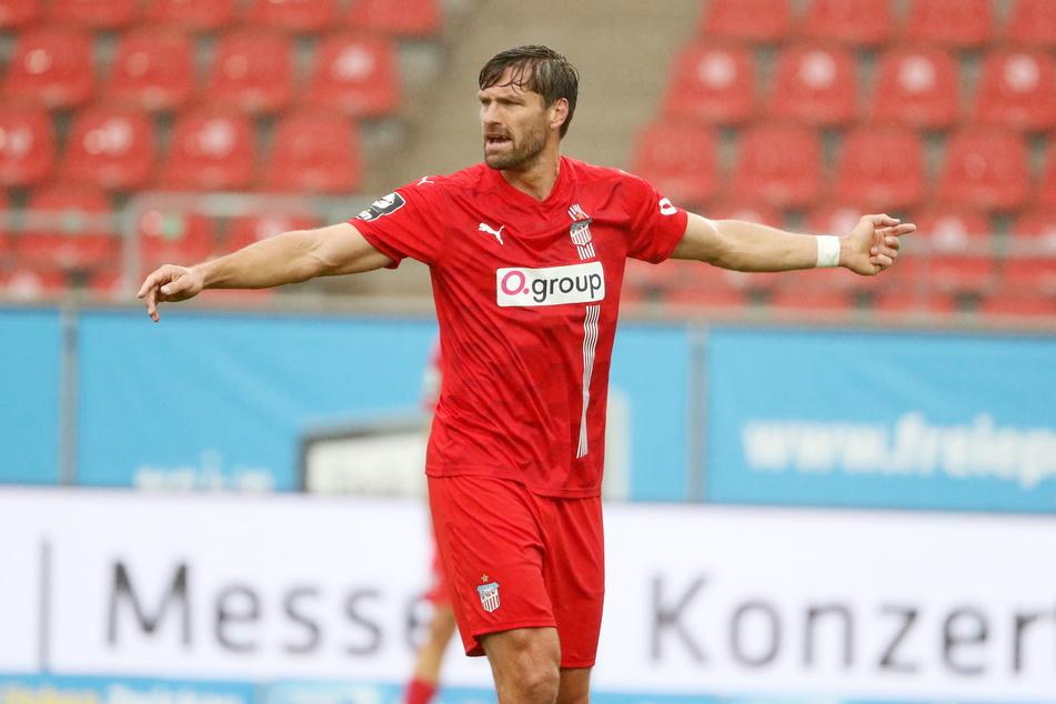 Los geht's! Ronny König (38) treibt die Zwickauer an.