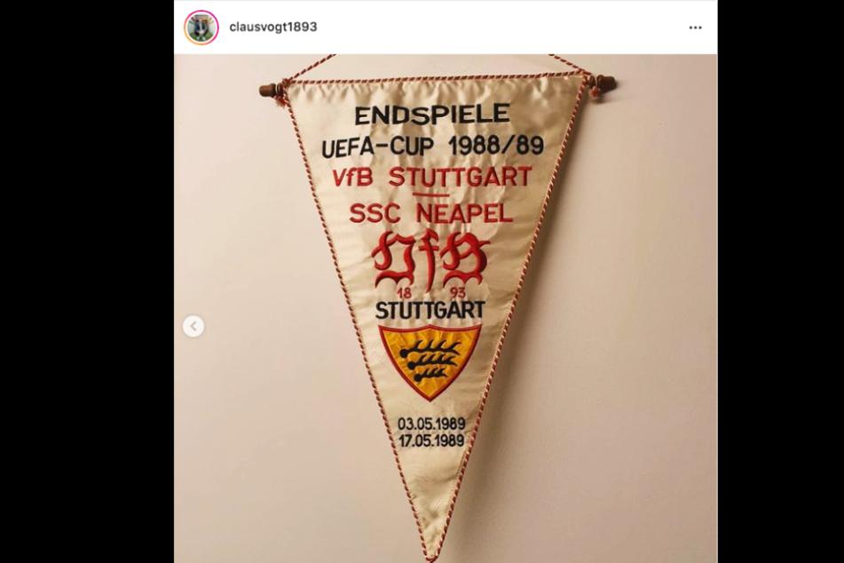 VfB-Präsident Claus Vogt (51) postete dieses Foto auf Instagram.