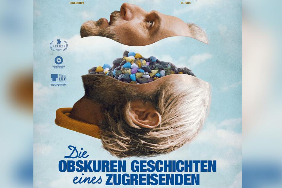"""Filmplakat von """"Die obskuren Geschichten eines Zugreisenden""""."""