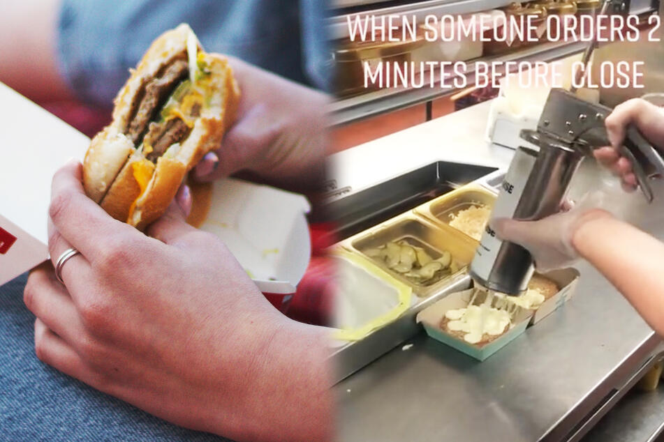 Not lovin' it: video reveals what last order of the day looks like at McDonald's